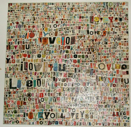 love and collage