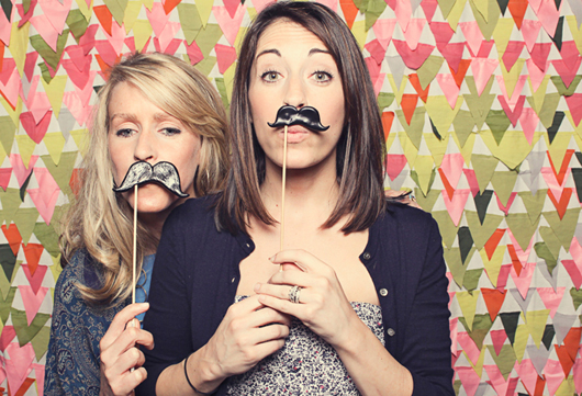 smile booth backdrop