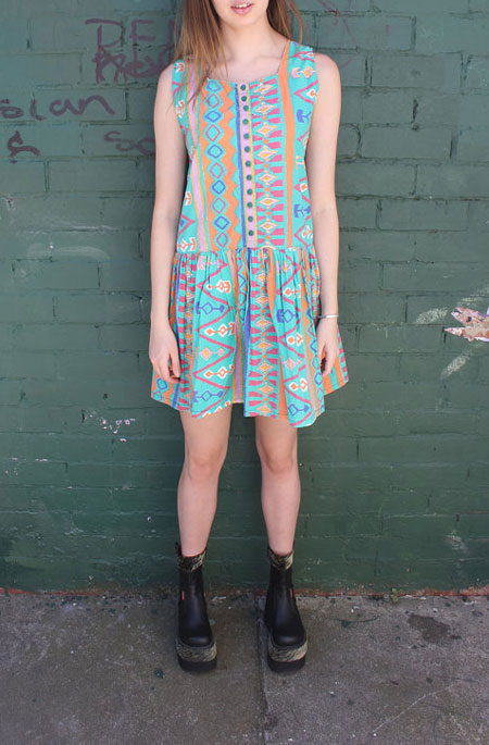 aztec-print-dress-montana-etsy
