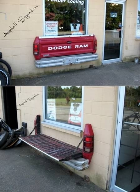 dodge ram shelf