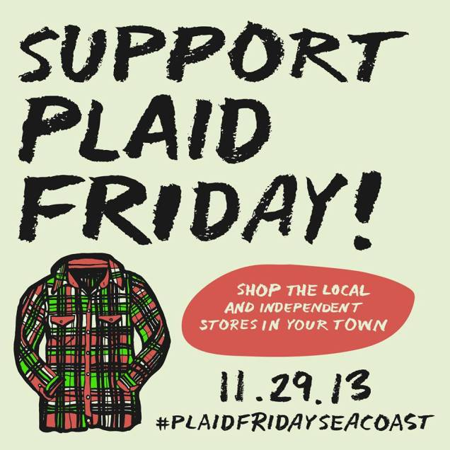 Ad for plaid friday seacoast