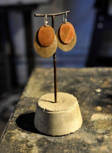 double-coin-earrings