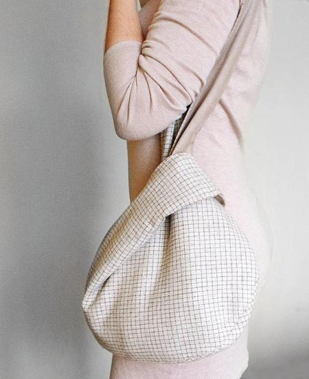 long strap japanese knot bag