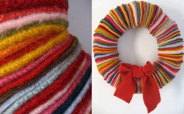 jenn moore sweater wreath
