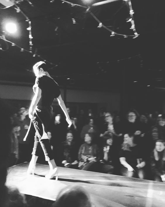 Elias Matso on Runway