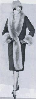 1920s cocoon coat