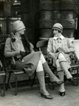Women seated Scotland 1926