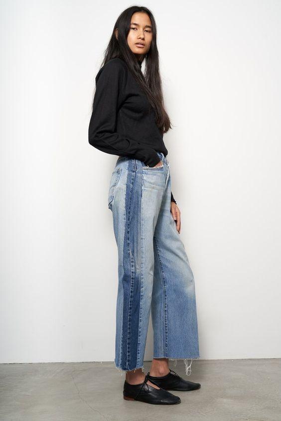 B side side Jeans